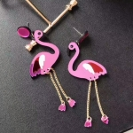 ต่างหู Dancing Flamingo ER9633