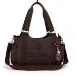 กระเป๋าถือ + สายสะพาย สีน้ำตาล