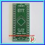 PCB TQFP32 PIN to DIP 32 pin Pitch 0.8mm Adapter