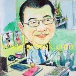 งานสั่งการ์ตูนล้อเลียน ธ.กสิกรไทย