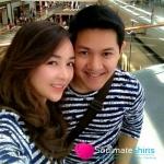 เสื้อคู่ เสื้อคู่รัก ชุดคู่รัก เสื้อคู่รักเกาหลี เสื้อผ้าแฟชั่น ผู้ชาย +ผู้หญิง เสื้อ PLAY ซิมป์สัน สีกรม หรือ รุ่นเป้ย