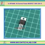1x IRF540N N-Channel Power MOSFET 100V 33A IR IC
