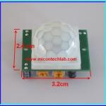 1x HC-SR501 PIR Pyroelectric Infrared Motion sensor