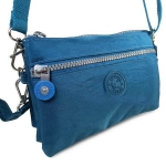 กระเป๋าสะพายข้างสายยาว สีฟ้า