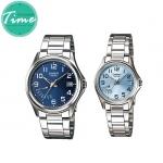 """นาฬิกาคู่รัก 1369 Standard Analog """"Blue"""""""