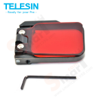 TELESIN Hero4 Professional Red filter with adpator