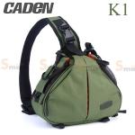 กระเป๋ากล้อง CADEN K1 สีเขียว (Green)
