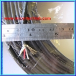 1x Audio Signal Stereo Shield Cable 4mm ( 1 meter per lot )