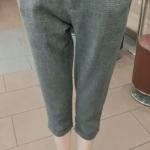 กางเกงแฟชั่นเกาหลี กางเกงสี่ส่วนเอี๊ยม