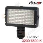 VILTROX LL-162VT Adjustable Color Temperature LED Light for Camcorder Camera