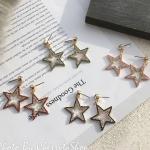 เลือกสีด้านในค่ะ ต่างหู Jewel Star Korea ER4145