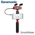 Saramonic SmartMixer Audio Adapter for iPhone, iPad, iPod, Mac, and Android Smartphones