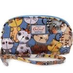 กระเป๋าสตางค์ Chalita wu สีฟ้าแมว