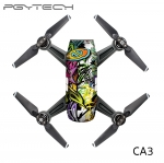 PGYTECH CA3 Sticker skin for DJI Spark series colorful and bright 3M scotchcal film waterproof