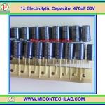 1x Electrolytic Capacitor 470uF 50V