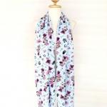 ผ้าพันคอ/ผ้าคลุมไหล่/ผ้าคลุมให้นม รุ่น Minnie and her Accessories in Light blue (Size S) ผ้าพันคอ พร้อมกล่อง/ซองแพคเกจอย่างดี ของขวัญ/ของฝาก