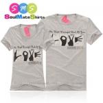 เสื้อคู่รัก ชุดคู่รัก เสื้อคู่ เสื้อยืดคู่รัก ผลิตจากผ้าฝ้าย (Cotton 100%) เนื้อนิ่ม ใส่สบาย สกรีนลาย อักษรมือ LOVE น่ารักมากๆเลยคะ