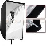 Umbrella softbox 60x90cm silver
