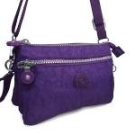 กระเป๋าสะพายข้างสายยาว สีม่วง