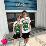 เสื้อยืดคู่รัก ชุดคู่รัก เสื้อคู่ เสื้อคู่รักเกาหลี เสื้อยืดคู่รักขาว สรีนลายดราก้อน