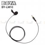 Microphone ไมค์หนีบปกเสื้อ BOYA Condenser BY-LM10 Stereo