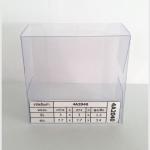 กล่องสบู่จตุรัส 7.7 x 7.7 x 3.4 cm