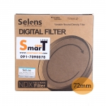 72mm Selens Adjustable ND Filter ND2-ND450 Filter