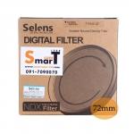 72mm Selens Adjustable ND Filter ND2-ND450 Filter