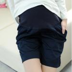 กางเกงคลุมท้องขาสั้น สีกรมท่า