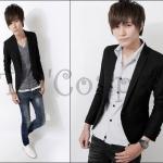 PRE-ORDER เสื้อสูทแฟชั่นแบบใหม่ เสื้อสูทสีดำเข้ารูปทรงสวย