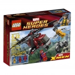 LEGO Super Heroes 6866 : Wolverine Chopper Showdown