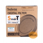 55mm Selens Adjustable ND Filter ND2-ND450 Filter