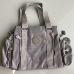 กระเป๋าถือ + สะพายไหล่ สีเทา