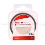 JYC Pro 1 D Super Slim UV fiter 58mm