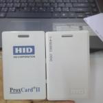 บัตรคีย์การ์ด HID แบบหนา และแบบบาง