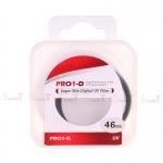 JYC Pro 1 D Super Slim UV fiter 46mm