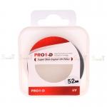 JYC Pro 1 D Super Slim UV fiter 52mm