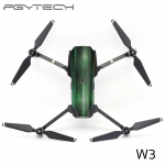 PGYTECH W3 Mavic PRO Sticker Drone Body & 2pcs battery stickers Decals For DJI Mavic PRO Drone Free Remote Control Protective Film