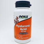 Now Foods, Hyaluronic Acid, 50 mg, 60 Veggie Caps