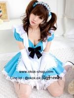 ชุดคอสเพลย์สาวใช้การ์ตูนญี่ปุ่นสุดน่ารัก