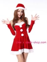 ชุดแฟนซีปีใหม่ซานต้าหญิงสุดน่ารัก