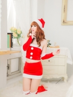 Pre Order / ชุดชั้นในเซ็กซี่ใหม่คริสต์มาส เจ้าหญิงกระโปรงสำหรับคริสต์มาส