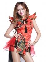Pre Order / บาร์ ds ชุดไนท์คลับบรรยากาศเซ็กซี่ DJ นักร้องหญิงย้อนยุคสไตล์จีน