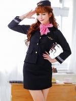 Pre Order / โรงแรมฤดูใบไม้ร่วงและเสื้อผ้าฤดูหนาวช่างเสริมสวยหญิงหน้าแคชเชียร์เครื่องแบบผู้จัดการ