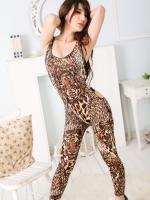 Pre Order / ชุดชิ้นใหม่ของผู้หญิงเสือดาวป่ารัดรูป แบบเซ็กซี่