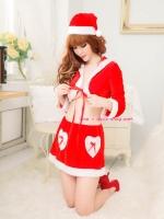 ชุดแฟนซีซานตาครอสผู้หญิง