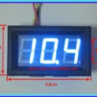 DC Voltmeter Ammeter (ดีซี โวลท์-แอม มิเตอร์)