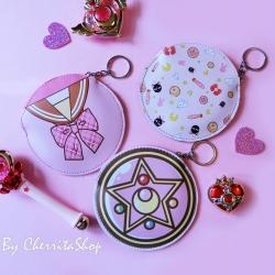 เลือกลายด้านในค่ะ กระเป๋าใส่เหรีญ Magical Girl BG0014