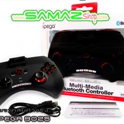 ราคาพิเศษ !! จอยเกมสำหรับมือถือ IPEGA PG 9025 Joypad Multimedia Bluetooth Controller ของแท้ เชื่อมต่อไร้สายผ่าน Bluetooth มาพร้อม ปุ่มมัลติมีเดีย จอยเกมมือถือ คอนโทรลเลอร์ระบบ ไร้สาย รองรับทั้ง IOS และ Andriod ใช้งานง่าย ออกแบบมาเพื่อคอเกมโดยเฉพาะ