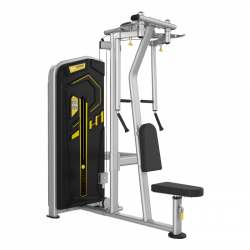 Single Seated Straigt Arm Clip Chest